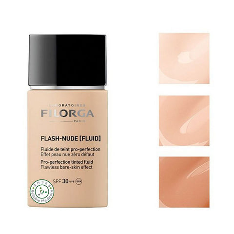 Filorga Flash-Nude Fluid: Pro-Protection Tinted Fluid 02 Gold 1 x 30ml