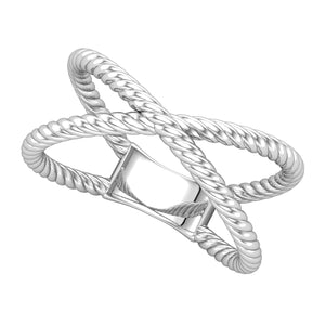 Crisscross Rope Ring