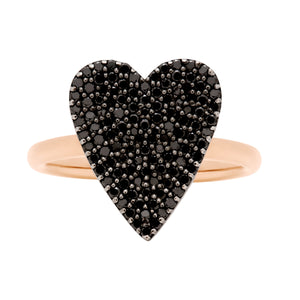 Black Diamond Heart (Sz. 7.5)