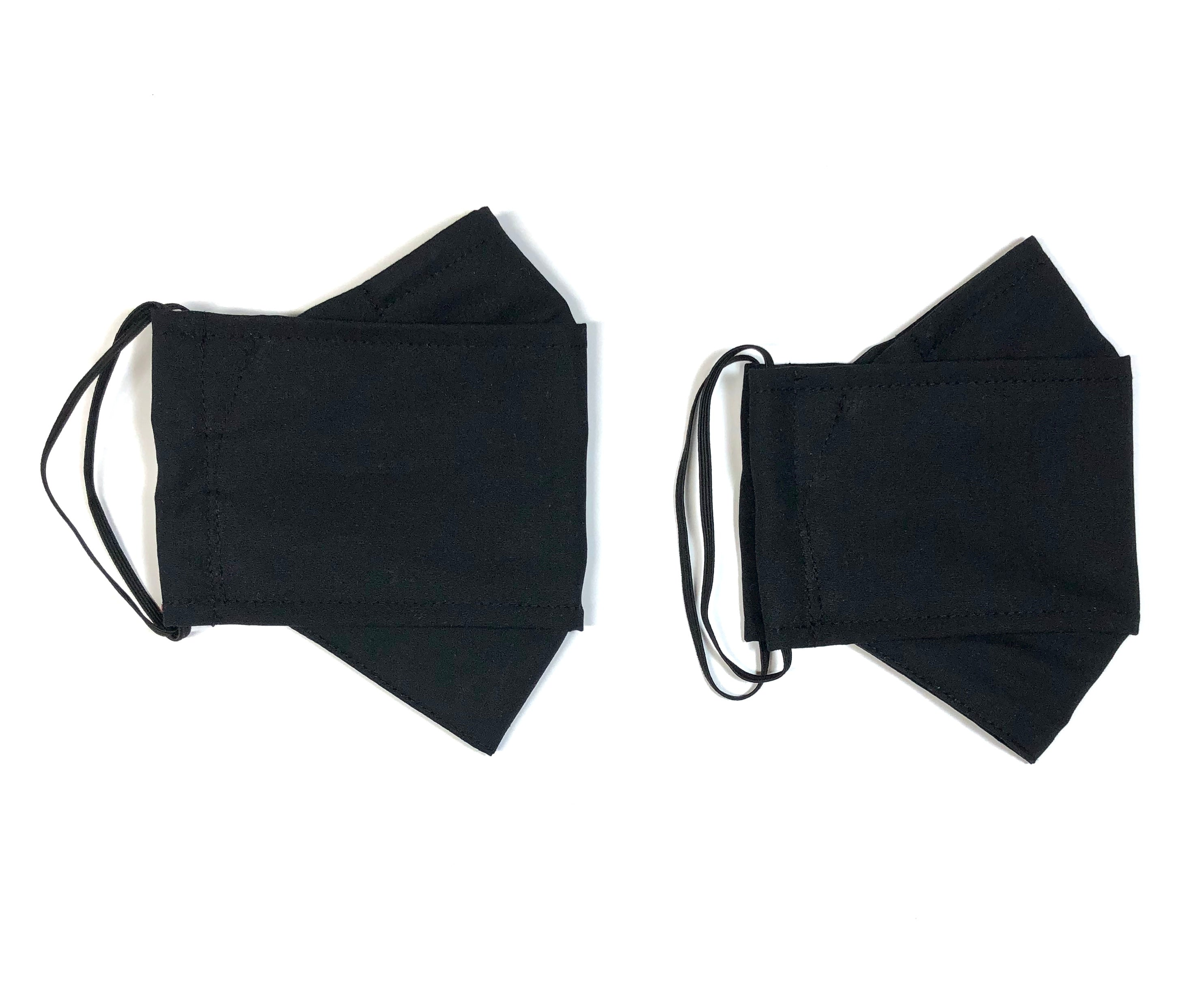 Black, Reusable Face Mask