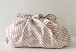 Oatmeal Striped, Bento Bag