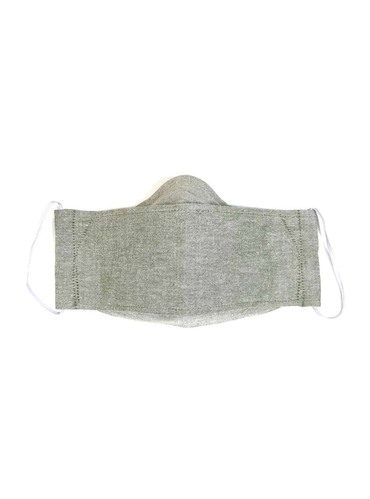 Oxford Sage, Reusable Face Mask [2-layers]