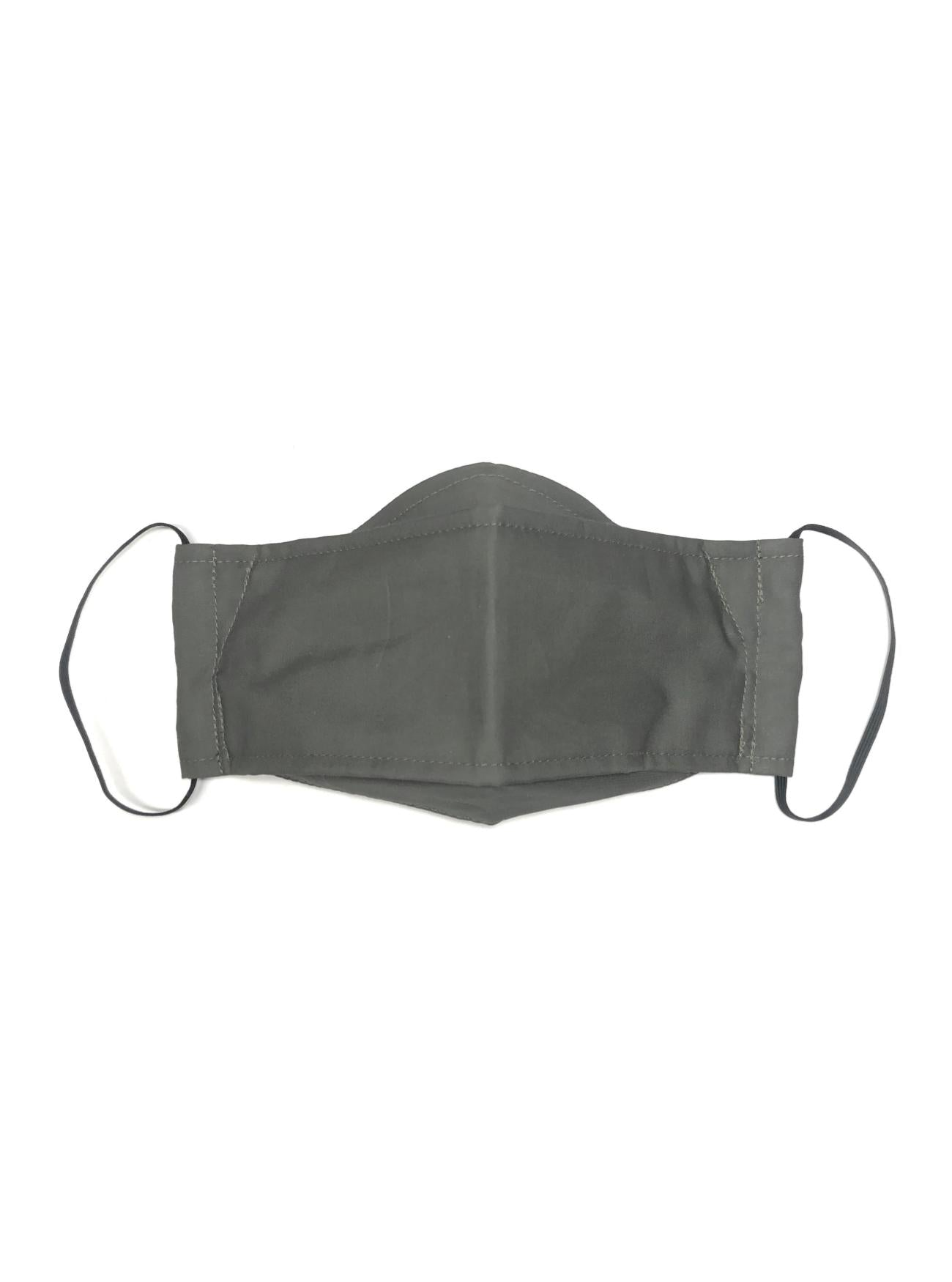 Stone Grey, Reusable Face Mask [2-layers]