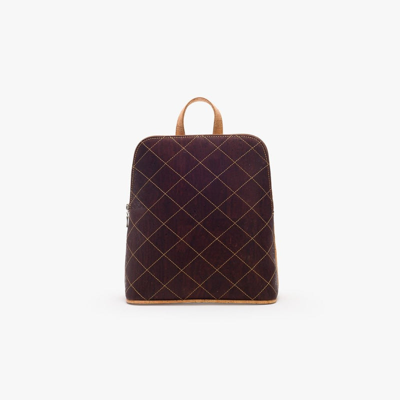 Chocolat Quilted Backpack