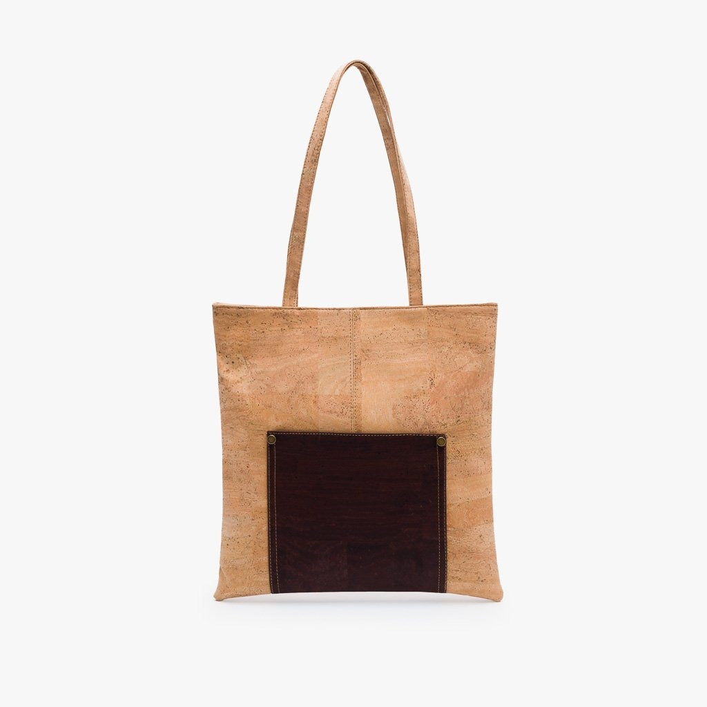 Dark Essential Tote Bag - Cork Element