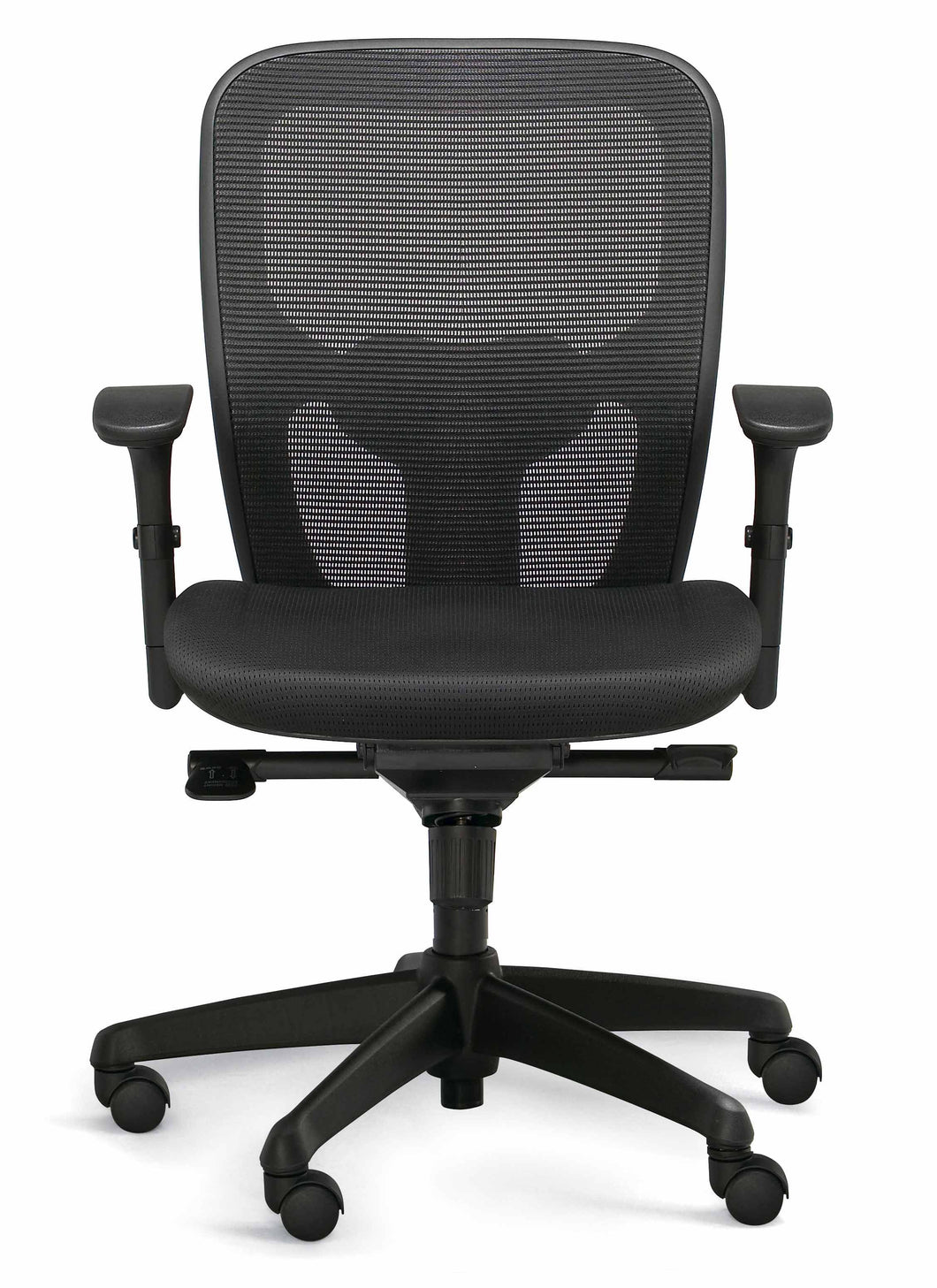 ACTIV ergonomic office chair with mesh backrest and adjustable armrests