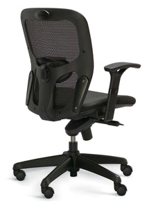 ACTIV ergonomic office chair with mesh backrest, lumbar support and adjustable armrests