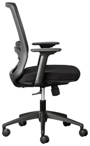 Alula ergonomic office chair with mesh backrest, adjustable arms and lumbar support