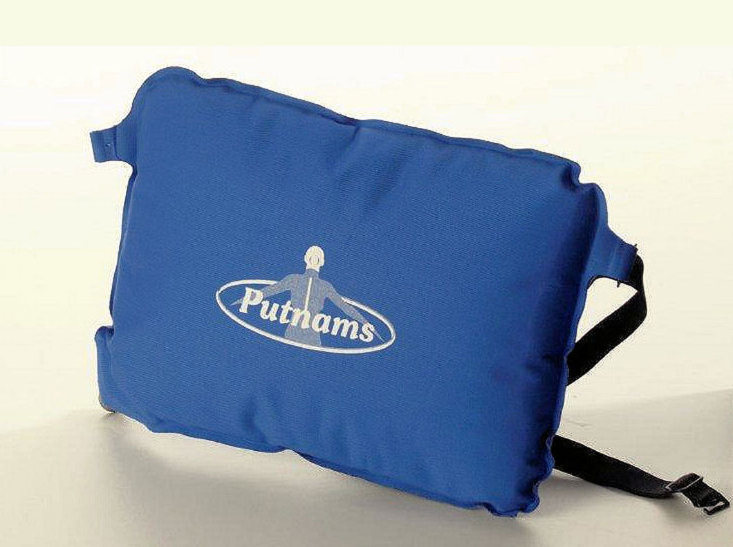 Putnams self-inflating back support cushion