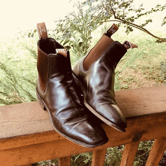 Restoring your RM Williams boots
