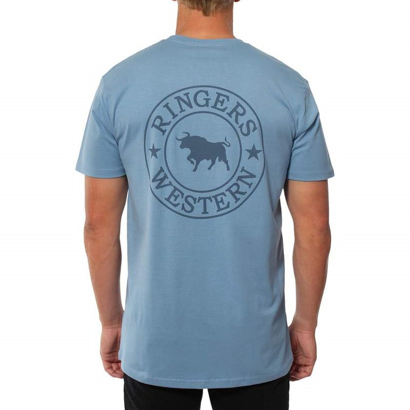Ringers Western Signature Bull Mens Original Fit T-Shirt