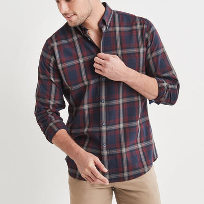 Blazer Hugo Check Shirt (5092816388233)