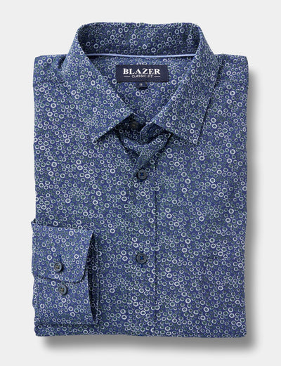 Blazer Tim Printed Shirt (4678257213577)