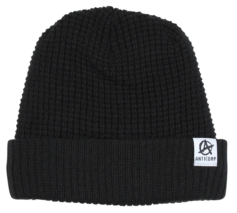 Anticorp Grid Lined Beanie