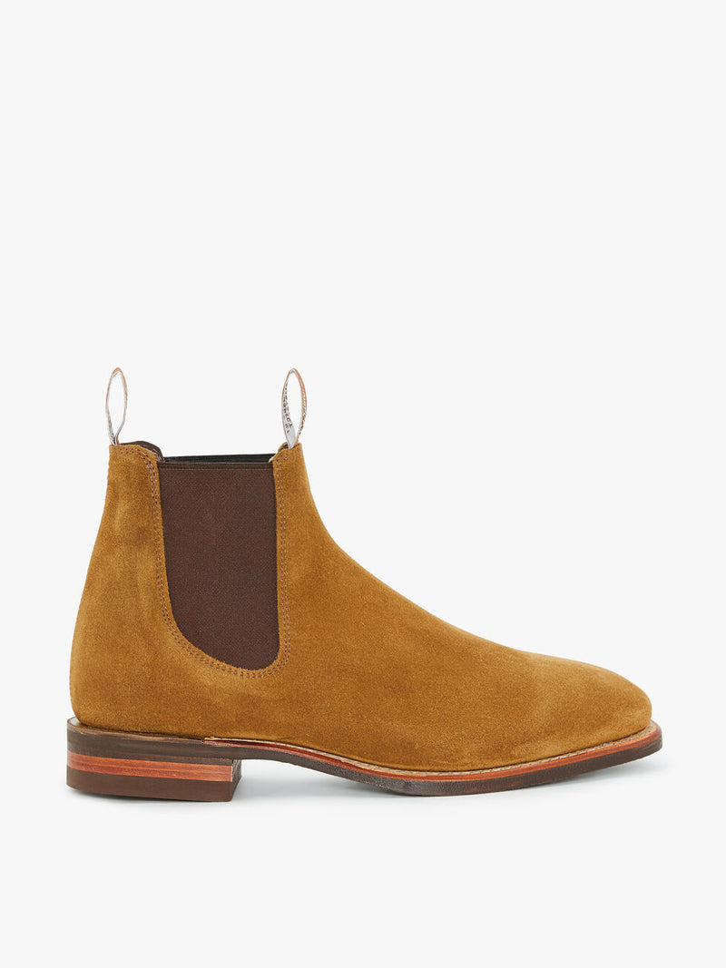 RM Williams Comfort Suede Craftsman Boot