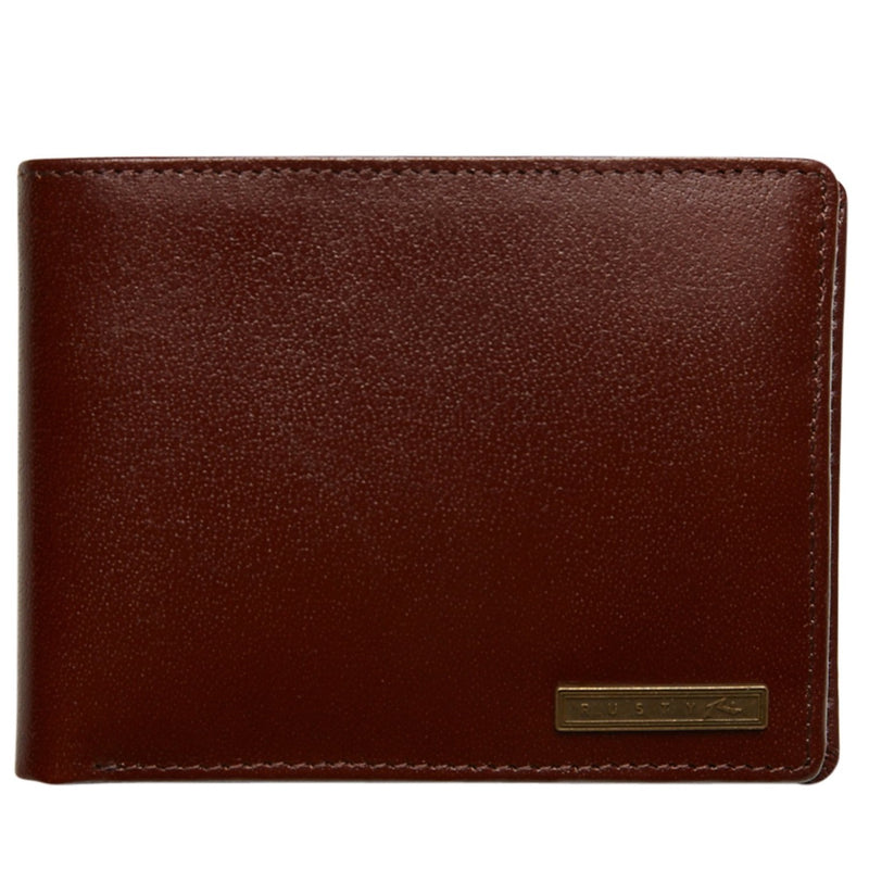 Rusty High River Leather Wallet (4498442420361)