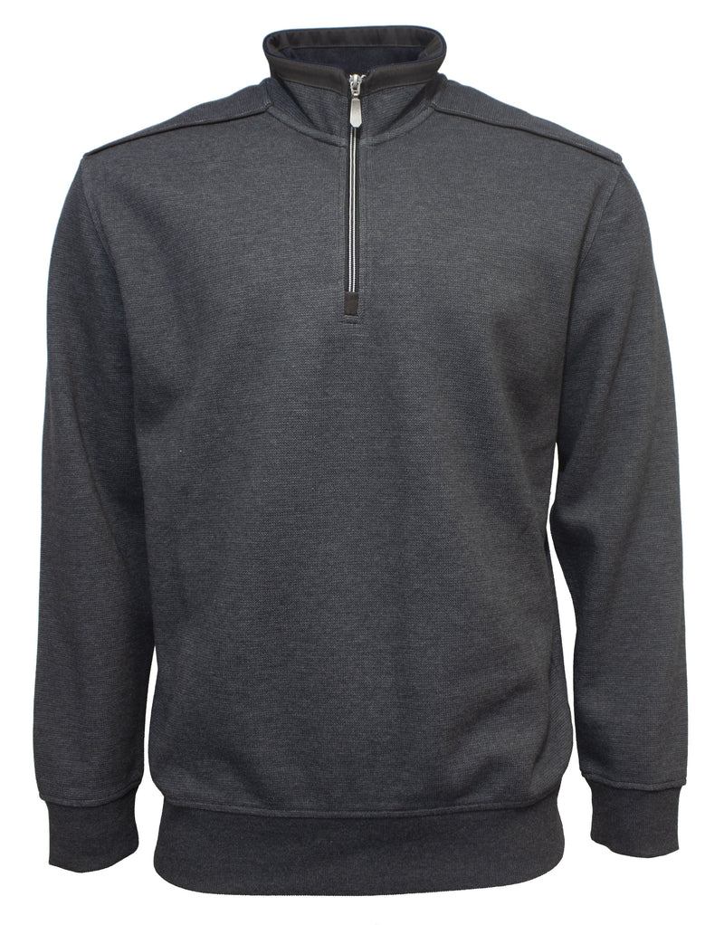 Back Bay Plain Half Zip Fleece (5044947681417)