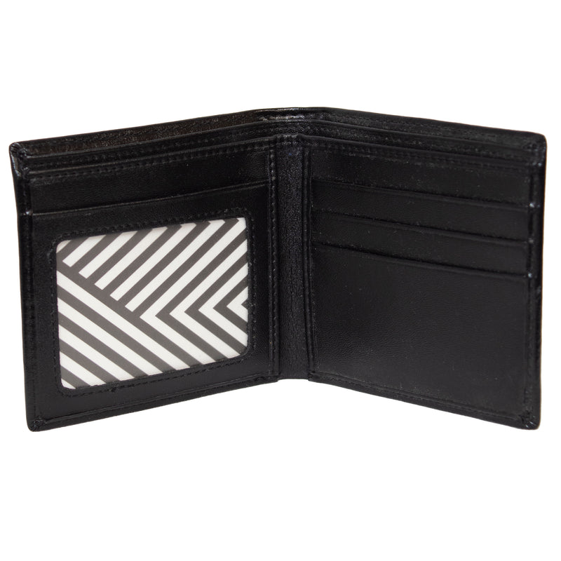 Buckle Bifold Wallet with Zipper (4619335172233)