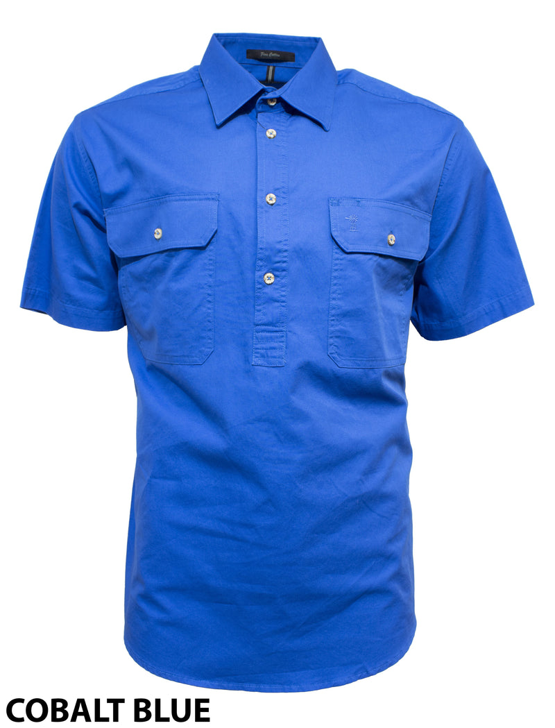 Ritemate Pilbara Short Sleeve Closed Front