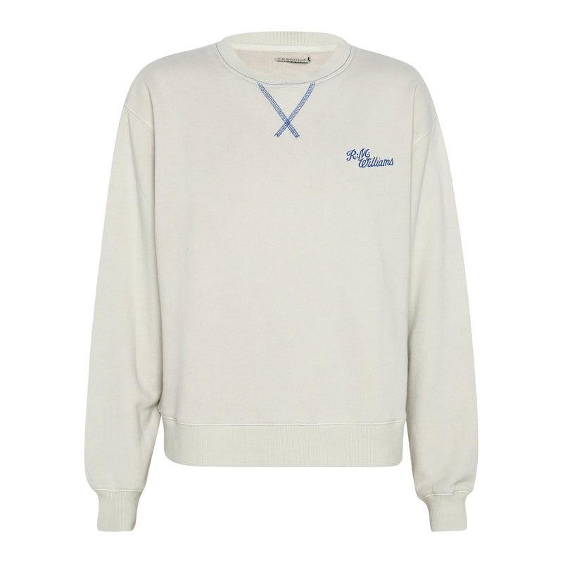RM Williams Mini Script Crew Neck (5531667234974)