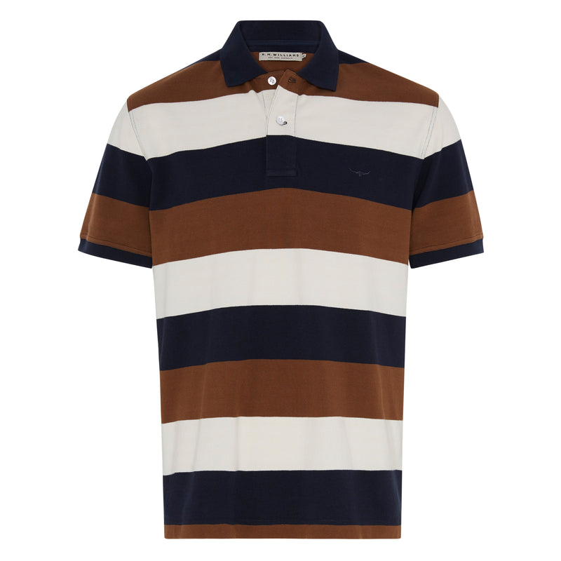 RM Williams Rod Polo Mid Stripe