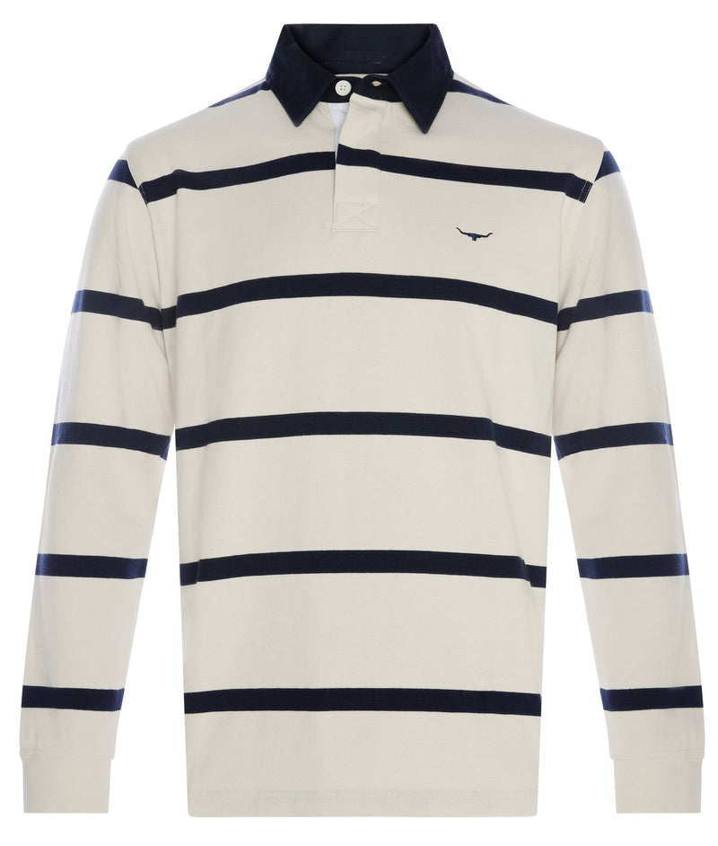 RM Williams Tweedale Thin Stripe Rugby