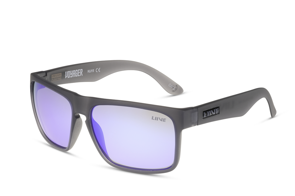 Liive Voyager Mirror Polar Float Sunglasses
