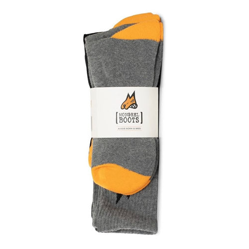 Mongrel 5 Pack Cotton Socks