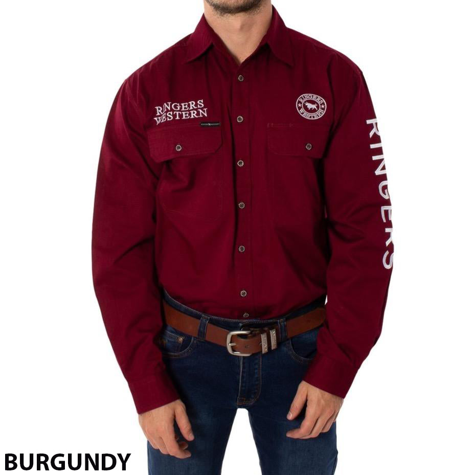 Ringers Western Hawkeye Embroidered Shirt (4498740936841)