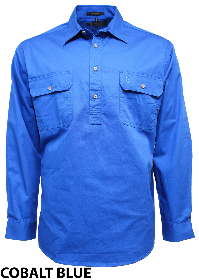 Ritemate Pilbara Closed Front Shirt L/S (5278599020702)