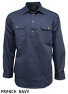 Ritemate Pilbara Closed Front Shirt L/S