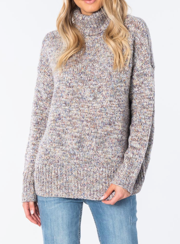 Rip Curl Carve Roll Neck Crew