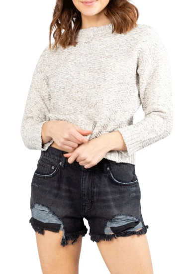 Rusty Opal Crew Neck Knit