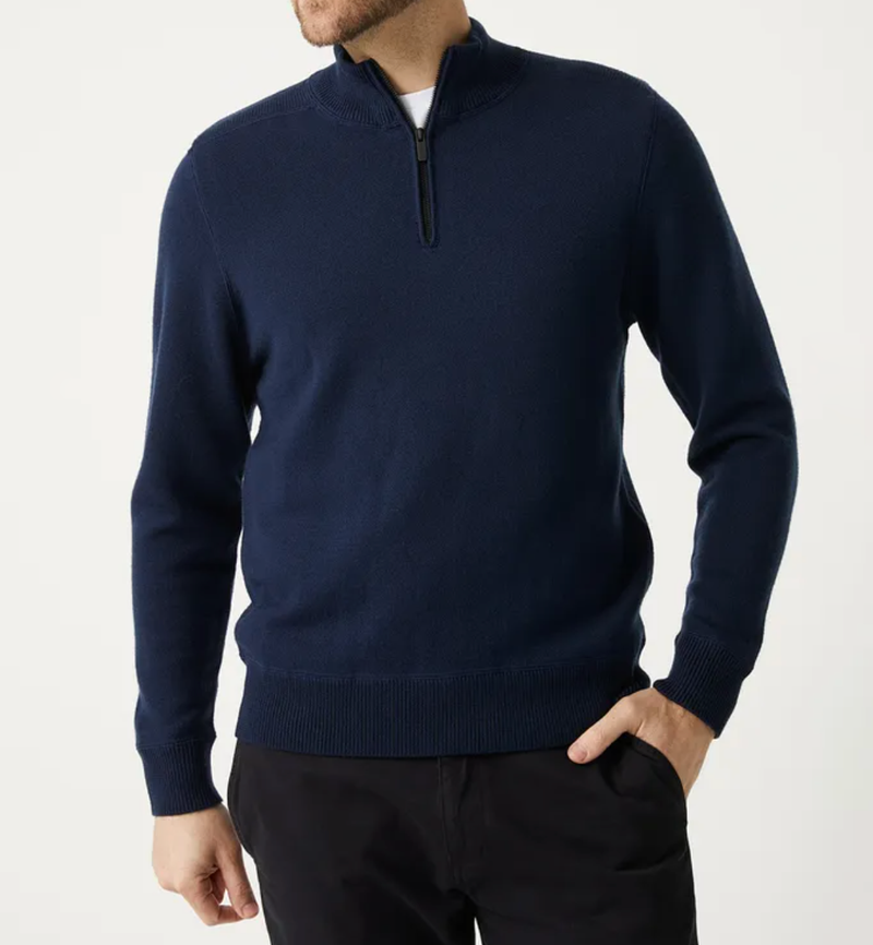 Toorallie Grafton Half Zip Knit