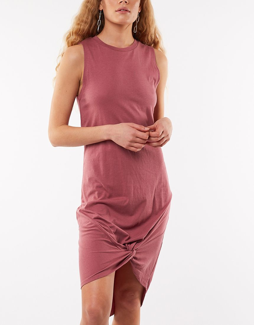 Silent Theory Twisted Tank Dress (4498542821513)