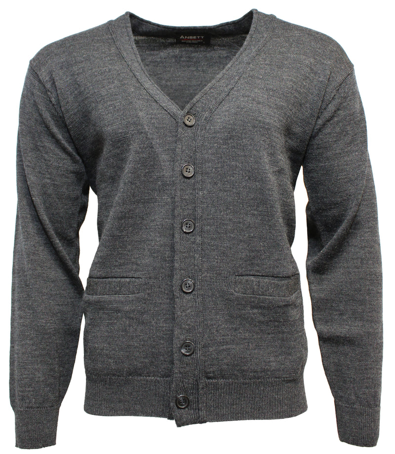 Ansett Superwash Wool Cardigan