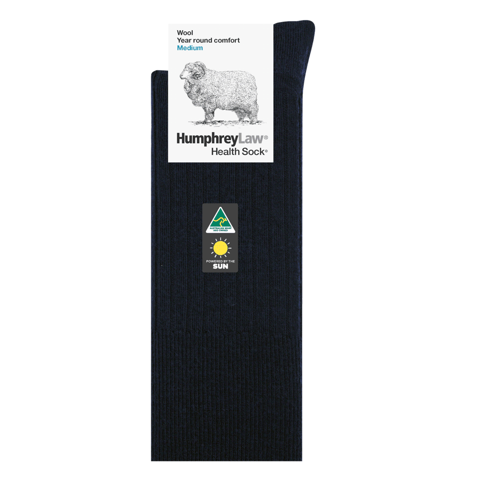 Humphrey Law Wool Mens Health Sock