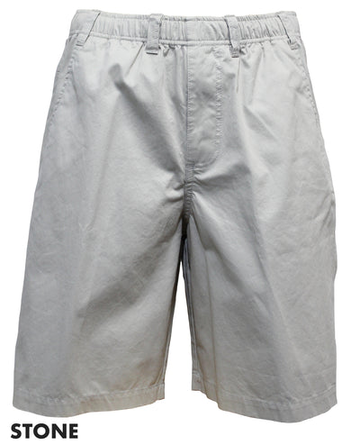 Back Bay Cotton Elastic Bedford Short