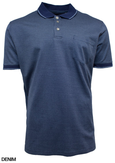 Back Bay Mercerised Polo (4498744508553)