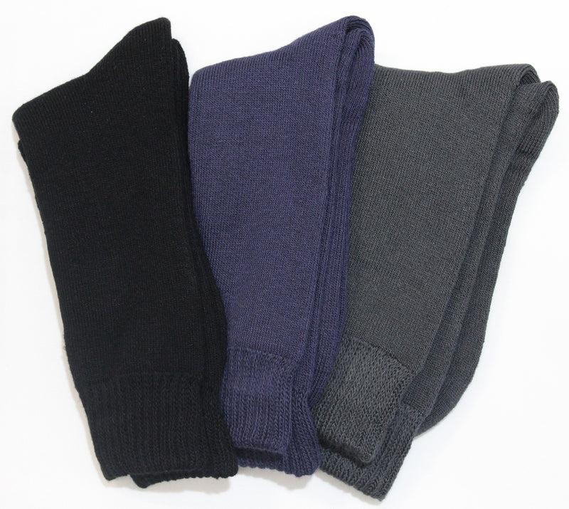 Bamboo 3 Yarn 3 Pack Work Socks