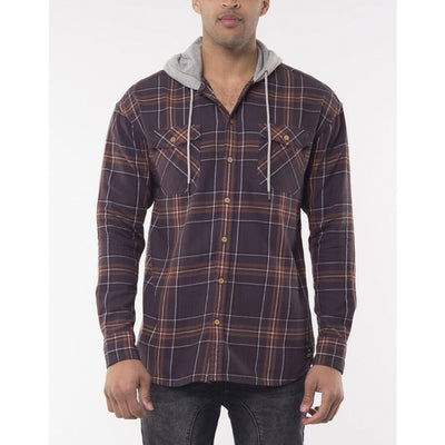 St Goliath Big Harry L/S Hooded Shirt
