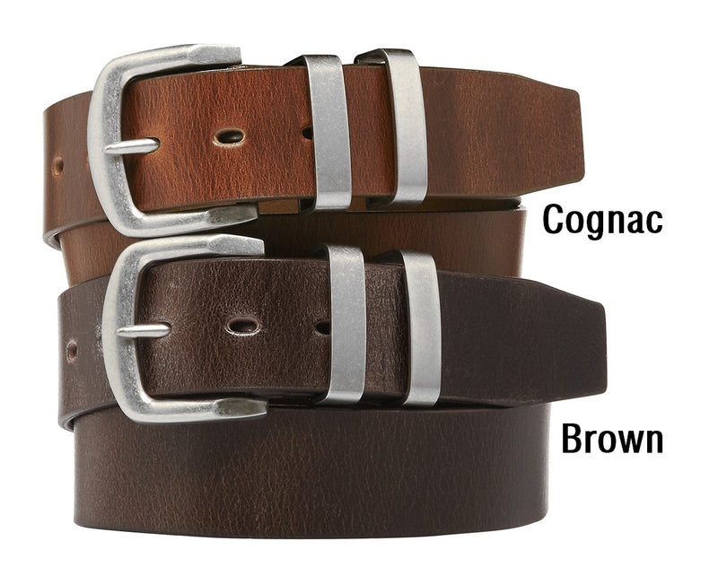 Buckle Buffalo Leather Belt (4498415485065)