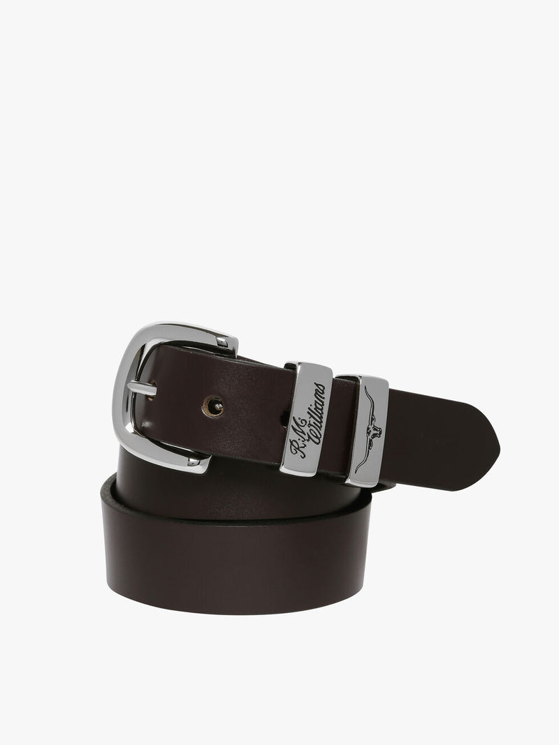 RM Williams 1 1/4 Leather Belt (4498469159049)