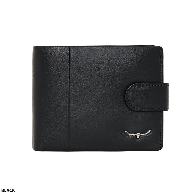 RM Williams Wallet with Coin Pocket and Tab
