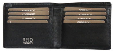 Cobb & Co Andy RFID Leather Wallet