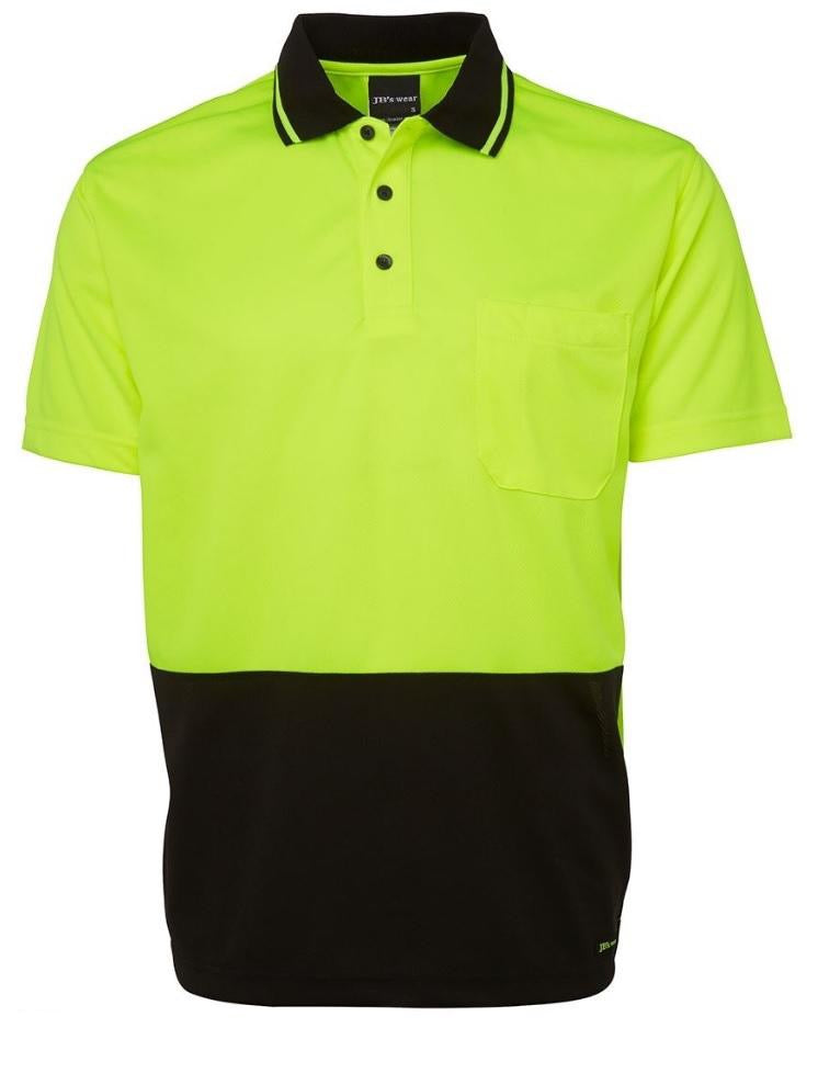 JBs Hi Vis Non Cuff Traditional Polo (4498422268041)