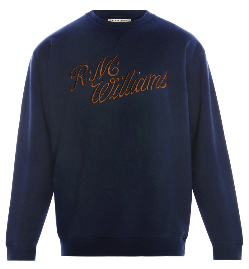 RM Williams Script Crew Neck