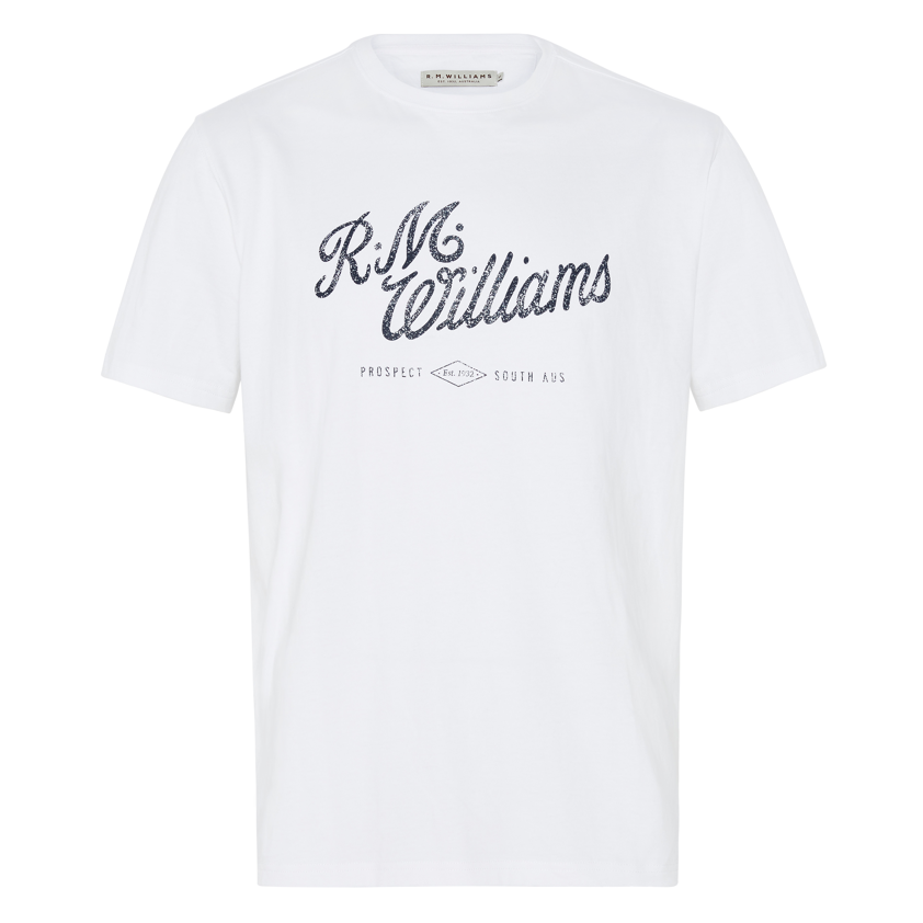 RM Williams Script Tee