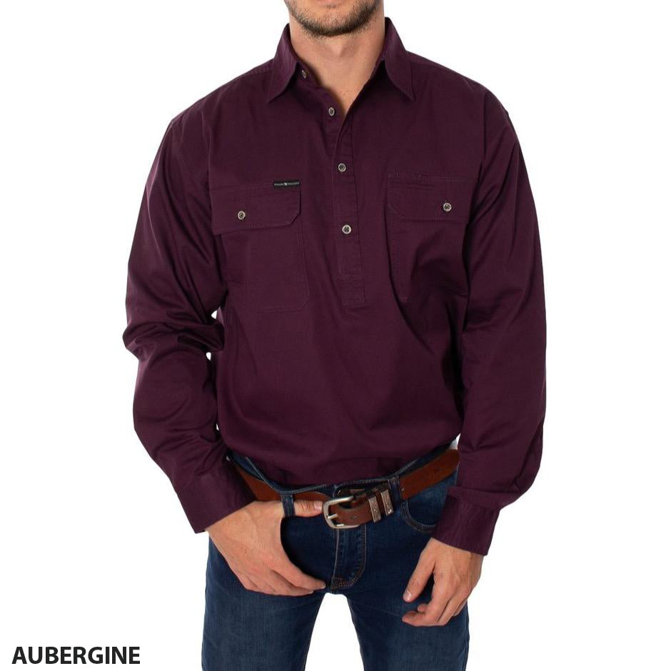 Ringers Western King River Half Button Shirt (4498787827849)