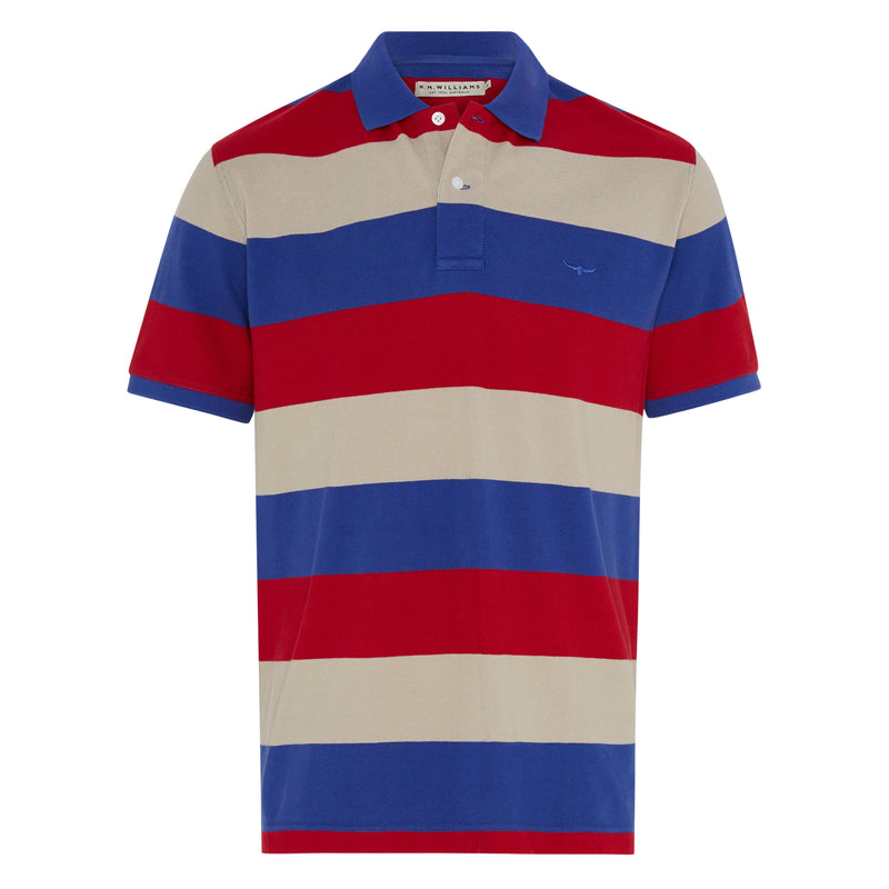 RM Williams Rod Mid Stripe Polo
